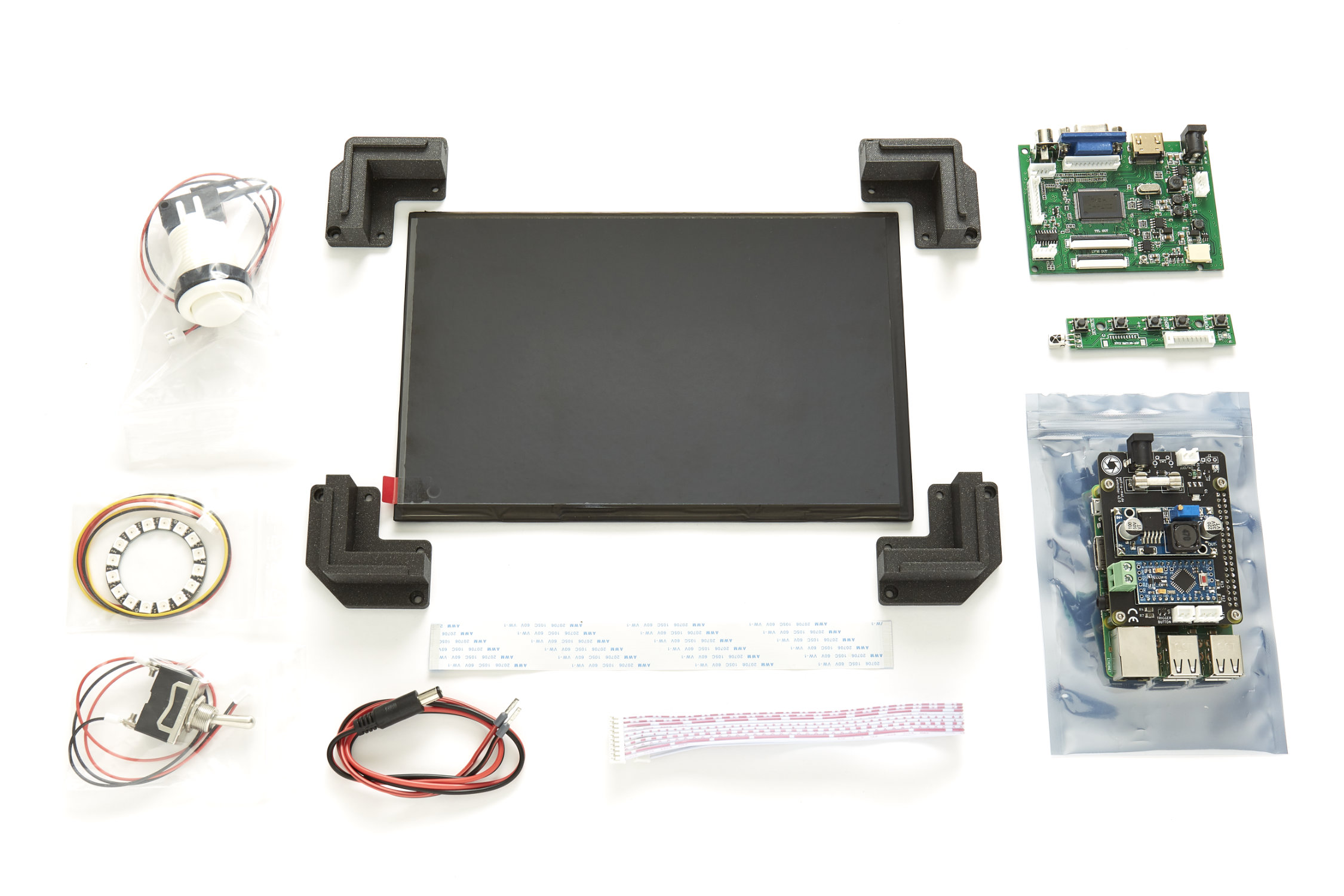All the electronics you need is included in your self-o-mat photobooth kit.